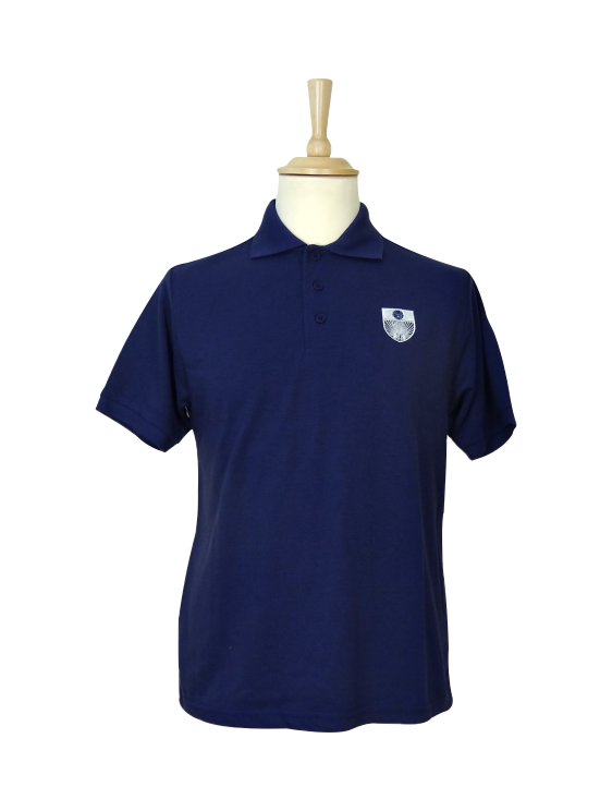 Embroidered polo shirt charles kirk for Made to order shirts online